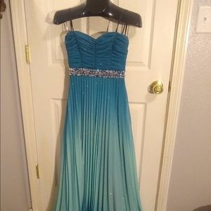 Formal dress - teal